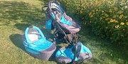 Детская коляска Adbor zipp 3 в 1 Киев