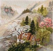 Картина -будиночок в горах Кременчуг