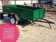 Новый одноосный усиленный пррицеп Днепр-21 на рессораз Волга! Тент в подарок! Лохвица