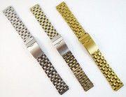 Новые Браслеты для часов под ушки 18 мм. Нержавеющая сталь. В наличии. Киев