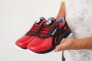 Подростковые кроссовки кожаные весна/осень красные-черные CrosSAV 90 Exofit Lo Clean Мелитополь