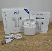 Беспроводные Bluetooth наушники i12 TWS Красноград