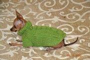 Одежда для миниатюрных Собак любого пола Ручное вязание Киев