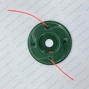Металлическая шпуля (паук) для мотокосы Мод. 2 Киев