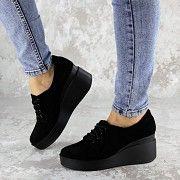 Туфли женские черные Pal 2143 (39 размер) Мелитополь