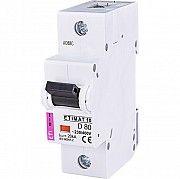 Автоматический выключатель ETIMAT10  1p D 80A ETI Киев