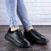 Кроссовки женские черные Alenie 2109 (36 размер) Житомир