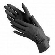Перчатки Нитриловые черные XL 100 штук Киев