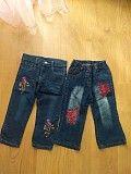 Продам красивые джинсы на вашу принцессу 1-2 года Харьков