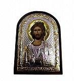 Греческая серебряная икона Спаситель Киев