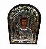 Греческая серебряная икона ангел-хранитель Киев