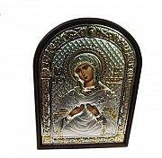 Греческая икона Богородицы Семистрельная с серебром Киев