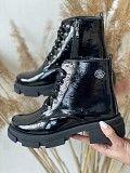 Женские ботинки кожаные зимние черные Best Vak БЖ32-01L Мелитополь