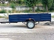 Прицеп новый усиленный одноосный Днепр-2500х1500х500 категории В Нововолынск