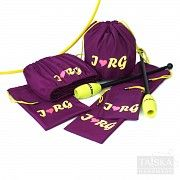 Набор чехлов для гимнастических предметов «Сливовый. I RG» Киев