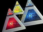 Часы-ночник-будильник Пирамида (3в1) Киев
