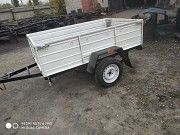 Купить прицеп легковой Днепр-17 и другие модели авто прицепов! В подарок тент Ромны