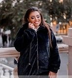 Куртка-шуба цвет Синий Одесса