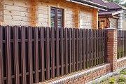 Евроштакет металлический (штакетник, паркан, забор) Чернигов