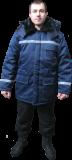 Теплая удлиненная куртка Луганск