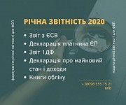 Фінансова звітність для ФОП / ТОВ Бровары