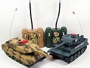 Набор радиоуправляемых танков для танковых сражений Huan Qi 508-10 Tiger vs Leopard. Киев