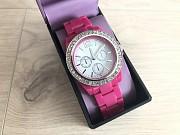 Распродажа Женские розовые часы из США бренда FMD by Fossil в стиле Swatch Киев