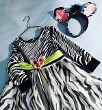Новогоднее платье Зебра Николаев