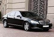 092 Mercedes W221 S500Lblack аренда авто Киев