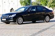 114 Аренда Mercedes W212 Е класса черный Киев