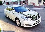 141 Nissan Teana белая аренда авто Киев
