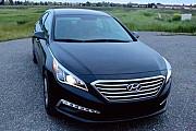 172 Hyundai Sonata черная аренда авто Киев