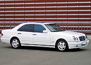 174 Mercedes W210 белый аренда авто Киев
