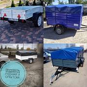 Прицеп автомобильный в усиленной комплектации Днепр-2501 от Кременчугского производителя Днепр Лохвица