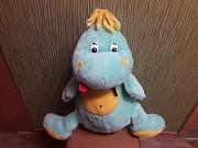 Плюшевый дракон дракоша. Большая мягкая игрушка. Энергодар