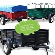 Купить новый прицеп легковой Днепр-210х130х50 от завода. В подарок евро тент Казатин