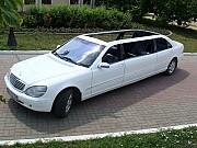 056 Кабриолет лимузин Mercedes 220 S 600 cabrio аренда Киев