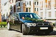 118 BMW 745L черный прокат аренда авто Киев