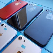 Корпус (крышка) iPhone 7 Jet Black/Black/Silver/Gold/Rose/Red Харьков
