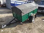 Автомобильный прицеп Днепр-2000х1300х3500 и другие размеры прицепов новых от завода Мукачево
