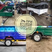 Прицеп автомобильный Днепр-210х130х50 и другие модели прицепов Коломыя
