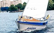 Прокат аренда парусной яхты в Киеве на Днепре Киев