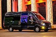 295 Микроавтобус Mercedes Sprinter черный VIP класса аренда Киев