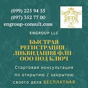 Быстрая регистрация, ликвидация ФЛП, ООО под ключ Харьков Харьков