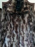 Пальто из шиншиллы - искусственный мех (XS) Вышгород