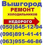 Ремонт холодильника Вышгород,Лютеж,Хотяновка,Дымер,Осещина,Новоселки,Петровцы Вышгород