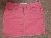 Летняя яркая джинсовая юбка Энергодар