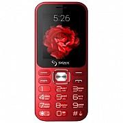 Sigma X-style 32 Boombox red,black кнопочный мобильный телефон Киев