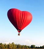 полет на воздушном шаре в форме Сердца Киев
