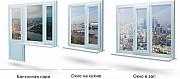 Металопластикові вікна двері ролети жалюзі миргород балкони Миргород